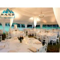 Safe And UV Protection High Resistance Good Flexibility White PVC Tent For The Wedding Manufactures