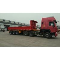Buy cheap 45 Ton Heavy Duty Semi Trailers With 8.0-20 Tires And 8000kg Tare Weight from wholesalers