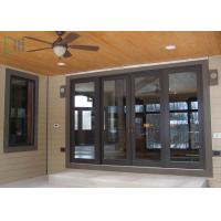 Quality Residential Housing Powder Coated Aluminium Doors Weather Resistant ISO for sale