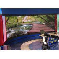 P4 Video Full Color led curved display , led curved  screen Fixed Installation Manufactures