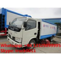Quality hot sale best price dongfeng RHD 5.5cubic meters dongfeng road sweeper, factory for sale