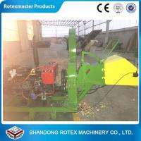 40HP Diesel Driven Type Forest Wood Chipper Shredder for Small Wood Logs Manufactures
