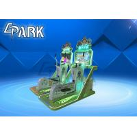 Speed Race Coin Operated Game Simulator , Arcade Electronic Video Game Machine For Kids Manufactures
