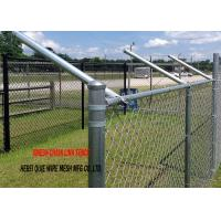 Hot Dipped Galvanized Chain Link Garden Security Wire Mesh Iron Metal Farm Fence for Garden Manufactures