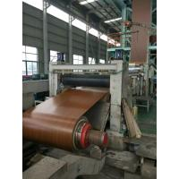 Wood Patterned , Prepainted Galvalume Steel Sheet In Coil Manufactures