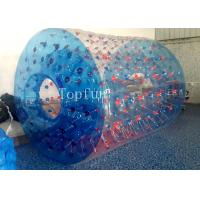 Fantastic Design Inflatable Toys , PLATO Water Roller Ball Games Blue Manufactures
