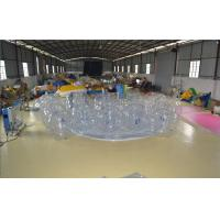 White Bumper Ball Inflatable Water Sports  PVC Plastic Sports Games For Campaign Manufactures