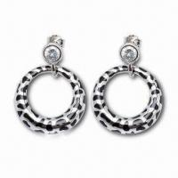 Drop Earrings, Customized Designs are Accepted, Made of Sterling Silver Manufactures