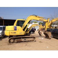 Buy cheap Year 2009 Used Crawler Excavator Komatsu PC60 - 7 93% UC 3 Years Warranty from wholesalers