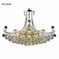 2016 New Style Crystal Chandelier Lighting Fixture Crystal Light Lustres de cristal for Living Room Ceiling Lamp Free Sh Manufactures
