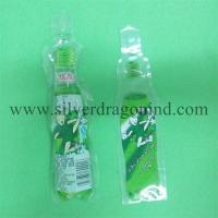 100ml Beverage Plastic bag with Bottle shape Manufactures
