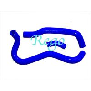 Flexible Radiator Vacuum Cleaner Hose Silicone Hose Kits For 06-11 HONDA CIVIC Si FA5/FG2 KA20 RED Manufactures