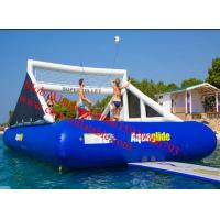 Giant Inflatable Water Volleyball Court Inflatable Bouncy Bossaball Inflatable Volleyball Manufactures