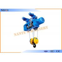 Construction Metallurgy Electric Wire Rope Hoist Low Noise Suitable For Plant Manufactures