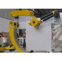 Automatic Coil Loading Sheet Metal Decoiler with Heavy Duty Roll Bearings Manufactures