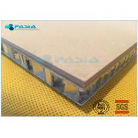 High Shear Strength Thin Limestone Veneer Panels With 27 Mm Thickness Manufactures
