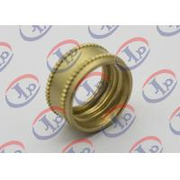 CNC Turning Precision Brass Knurling Parts 0.704in Outer Diameter M14 X 1.0mm Thread Manufactures