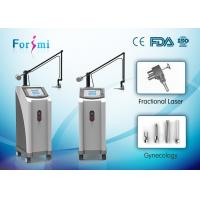 CE approved wrinkle removal skin tightening co2 fractional laser beauty machine Manufactures