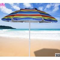 Buy cheap Rio Beach Deluxe 6ft Sun Protection Beach Umbrella with Tilt , Sun Beach Umbrella wholesale. from wholesalers