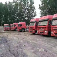 China Diesel Power Used Tractor Truck 375hp Tractor Head Truck For Transport on sale