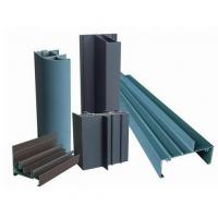 Powder Painted Profile Aluminum Extrusions 6063-T5 / 6060-T5 For Construction Manufactures