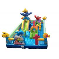 Kids Inflatable Bounce Castle combo Inflatable fun bounce house for sale Manufactures