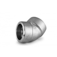 ISO9001 45 Degree Elbow SS Socket Weld Fittings Manufactures