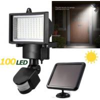 IP65 Solar LED Flood Lights , Solar Powered Security Light With Motion Sensor Manufactures