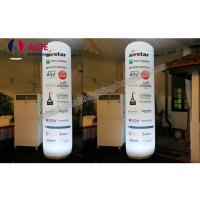 Led Column Inflatable Event Decoration Advertising , Inflatable Tube With Remote Control Manufactures