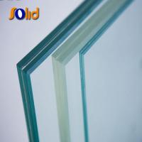 China supplier quality 8mm laminated glass with unit price Manufactures