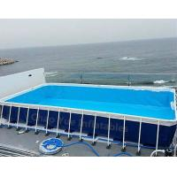 Buy cheap Hot sale Metal Frame Swimming Pool for water park from wholesalers