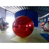 Christmas Decoration Inflatable Mirror Ball , PVC Clear Mirror Calls For Promotion Manufactures