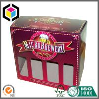 Super Quality Beer Bottle Carton Packaging Box; Beer Corrugated Packaging Box Window Manufactures