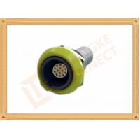 PSU 14 Pin Circular Push Pull Connector Plastic Female Connector Manufactures