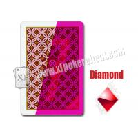 Aribic JDL Standard  Size Plastic Invisible Marked Playing Cards For Contact Lens Manufactures