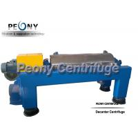 Buy cheap Full Automatic Screw Decanter Centrifuges Soy Isolate Protein Decanter from wholesalers