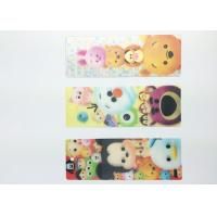 Beautiful 3D Lenticular Bookmarks UV Printing Customised Bookmarks Manufactures