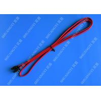 Red SATA 3.0 6gbps Cable Long SATA Cable 7 Pin SATA To SATA For Set Top Box Manufactures
