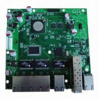 Buy cheap PCB Assembly, Suitable for Networking and Communication Products from wholesalers