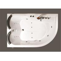 Quality Aganist Wall Free Standing Jetted Soaking Tub , American Standard Whirlpool Tub for sale