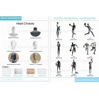 Jolly mannequins-new design sports playing basketball mannequins collection Manufactures