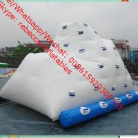 inflatable iceberg water toy water park equipment price Manufactures