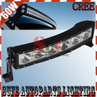 13.5inch 60W Curved CREE LED Light Bar Combo Beam For Off Road 4x4 for f150 ford raptor Manufactures