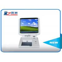 Indoor IRM touch card dispenser kiosk in hospital lobby , 55 Inch intelligent self service kiosk Manufactures