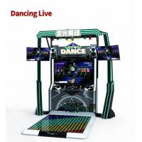 China LED Stage Dance Game Machine , Music Dance Machine With Colorful Lighting on sale