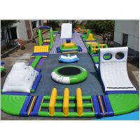 Free Combinations Inflatable Water Park Excellent Peeling / Durable Anchor Ring Manufactures