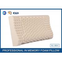 Comfortable Supportive Latex Foam Rubber Pillow With Durable Cover , Memory Foam Pillow Manufactures