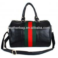 Black Leather Durable woman bags fashion hot seller design (AC-077) Manufactures