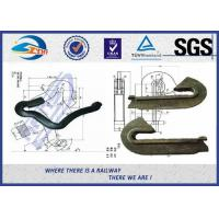 Rail Fixation Rail anchor fasteners 60Si2Mn 65 Mn Material Anticreeper Manufactures