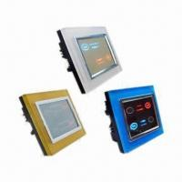 Touch Dimmer Switch for Incandescent Lamp, with Acrylic Colorful Frame and LCD Display Manufactures